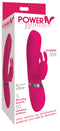 Power Bunnies Hoppy 50X Pink Rabbit Style Vibrator