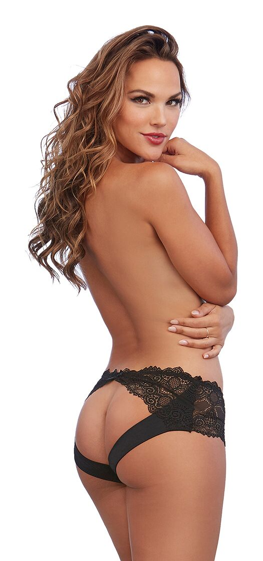 Panty Black Large from Dreamgirl