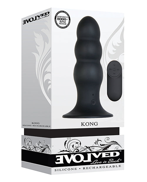 Super Power Butt Plug with Remote from Evolved Novelties