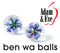 ADAM & EVE GLASS BEN WA BALLS