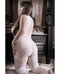 Worth The Wait Floral Bodystocking Lace Edge Queen Size