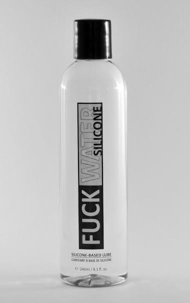 FUCK WATER SILICONE 8 OZ LUBRICANT