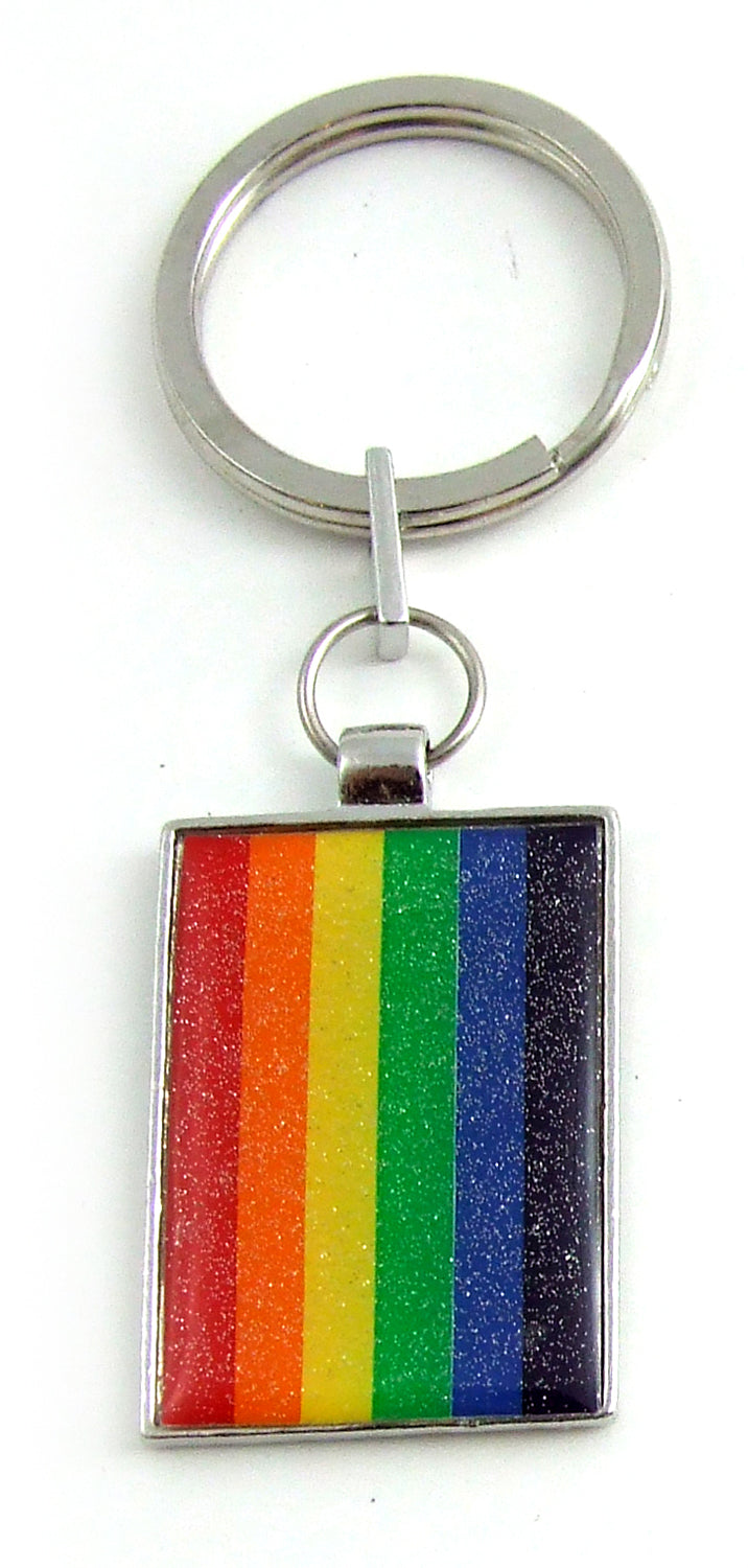 PRIDE KEY CHAIN FLAG