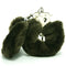 PLUSH LOVE CUFFS BROWN