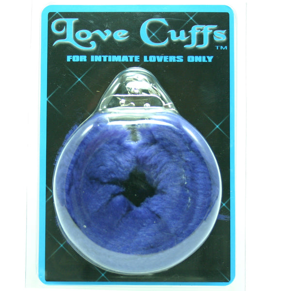 PLUSH LOVE CUFFS BLUE