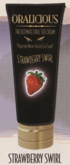 Oralicious Oral Sex Cream Strawberry Swirl