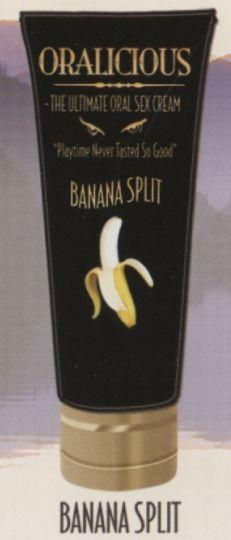Oralicious the ultimate oral sex cream Banana Split 2 Oz