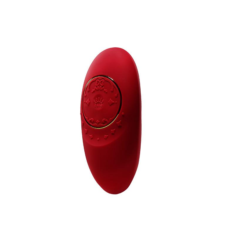 ZALO Jeanne App-controlled Rechargeable Personal Massager Bright Red