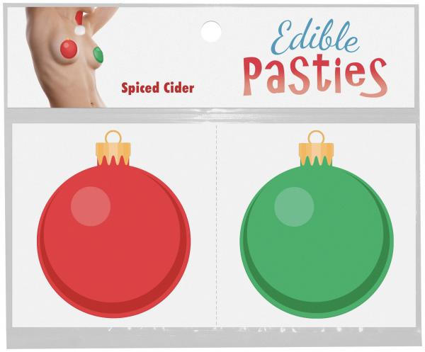 Edible Ornament Pasties Spiced Cider