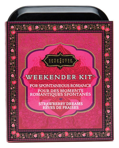 Kama Sutra Weekender Kit Strawberry New Tin