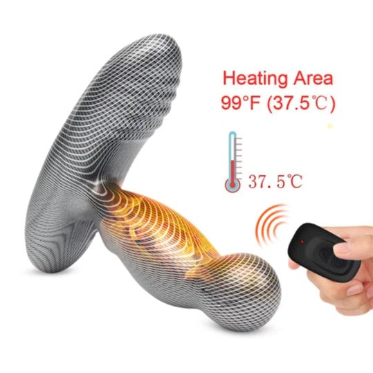 Ancus Carbon Remote-Controlled Heated Prostate Massager