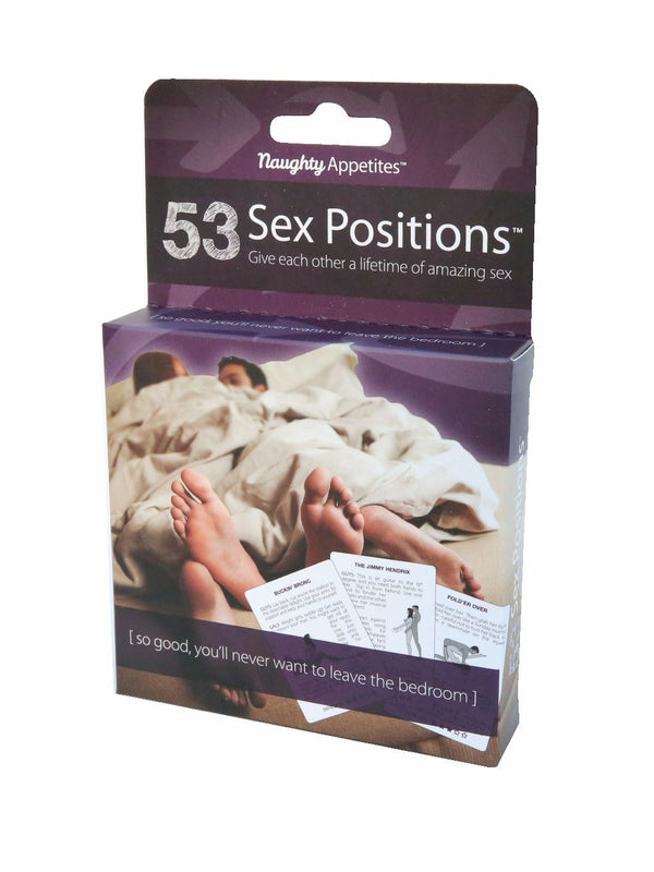 Naughty Appetite 53 Sex Positions Cards