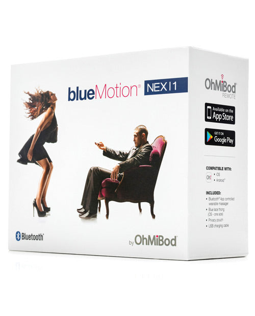 OhMiBod Blue Motion Nex 1 2nd Generation Remote App Vibrating Panties