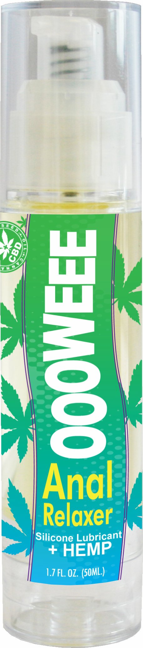 Body Action Products Ooowee Anal Relaxer Lubricant with Hemp Seed Oil 1.7 Oz