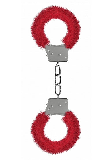 BEGINNER'S HANDCUFFS FURRY RED