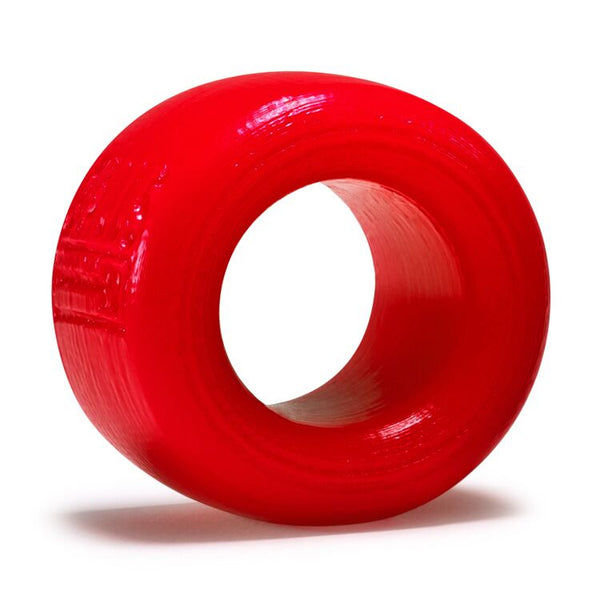 Atomic Jock Balls-T Ballstretcher Silicone Smoosh Red Small From Oxballs
