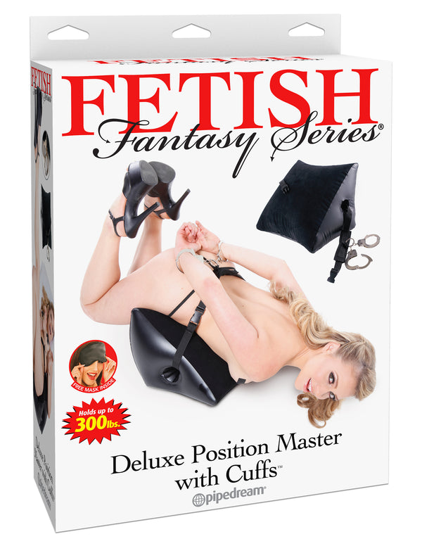 Fetish Fantasy Series Deluxe Position Master with Cuffs Black