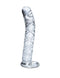 Icicles # 60 Hand Blown Glass Clear Massager