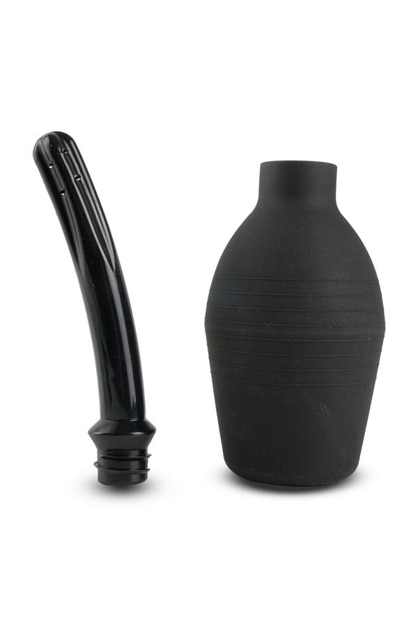 Fetish Fantasy Series Curved Douche Enema Black