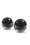 Fetish Fantasy Series Limited Edition Medium Black Glass Ben Wa Balls Black