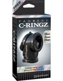 Fantasy C-Ringz Cock Pipe With Ball Stretcher Black