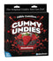Edible Crotchless Gummy Undies for Him Bold Fruit Flavor Strawberry
