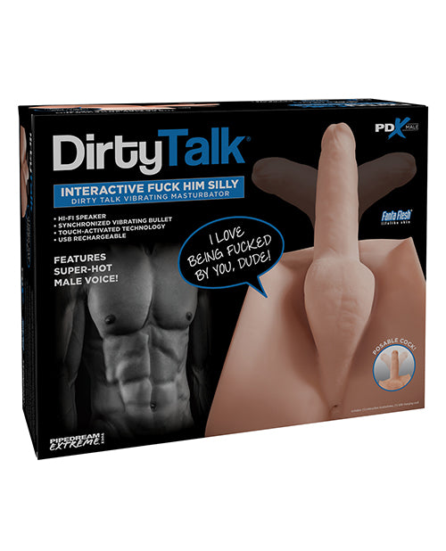 PDX Male Dirty Talk F*ck Him Silly Masturbator from Pipedream Products