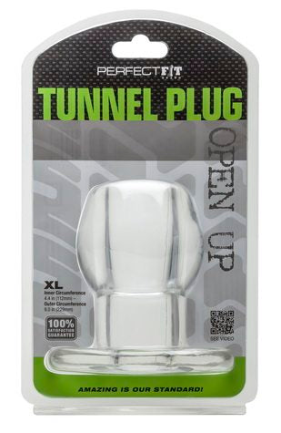 Tunnel Plug XL Black from Perfect Fit