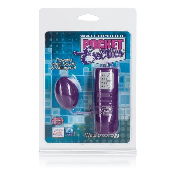 Waterproof Pocket Exotics Egg Vibrator