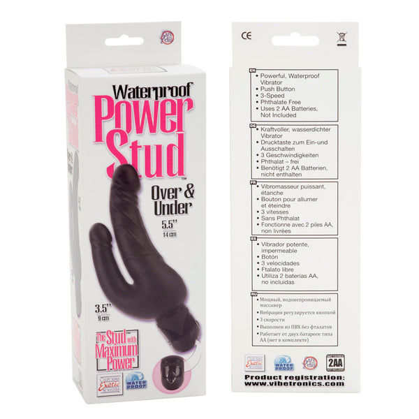POWER STUD OVER & UNDER W/P BLACK