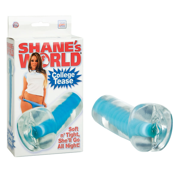 Shane's World Strokers College Tease Blue