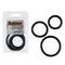 RUBBER RING BLACK 3PC SET