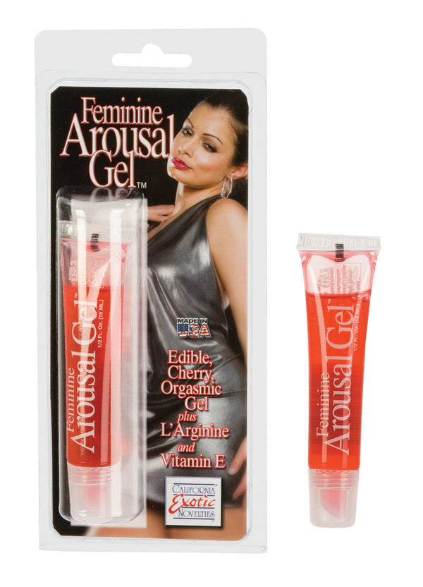 Feminine Cherry Arousal Gel 0.5 Oz