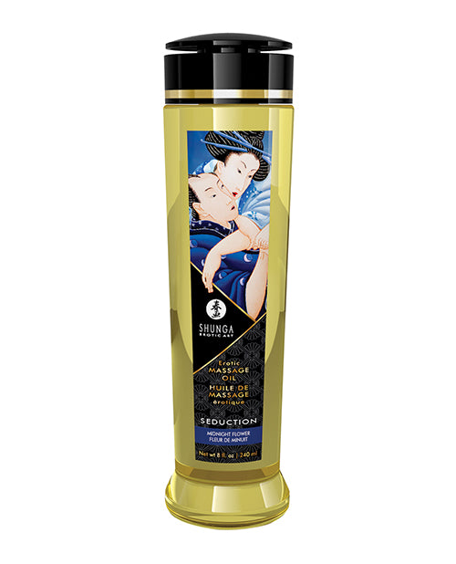 Massage Oil Asian Midnight Flower Seduction 8 Oz from Shunga