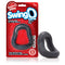 Screaming O Swing O Curved Gray silicone cock ring