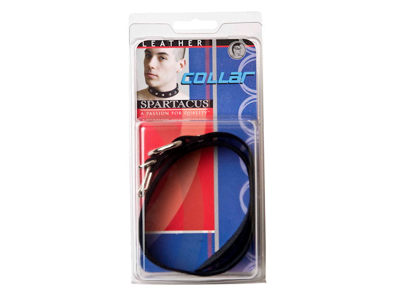 Spartacus Plain Collar 1 inch with Buckle and D-ring