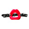 Sportsheets Sex and Mischief Silicone Lips Mouth Gag Red