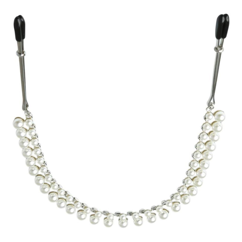 SINCERELY PEARL CHAIN NIPPLE CLIPS