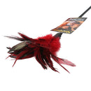 STARBURST FEATHER RED