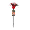 Starburst Feather Tickler Red