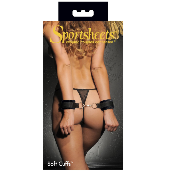Soft Cuffs Black from Sportsheets