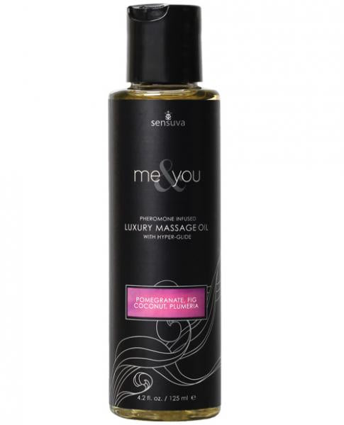 ME & YOU MASSAGE OIL POMEGRANATE 4.2OZ