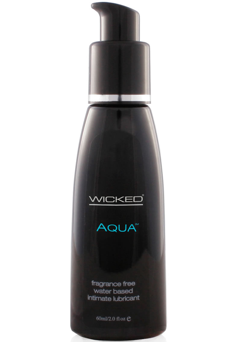 Wicked Aqua Unscented Lube 2 Oz