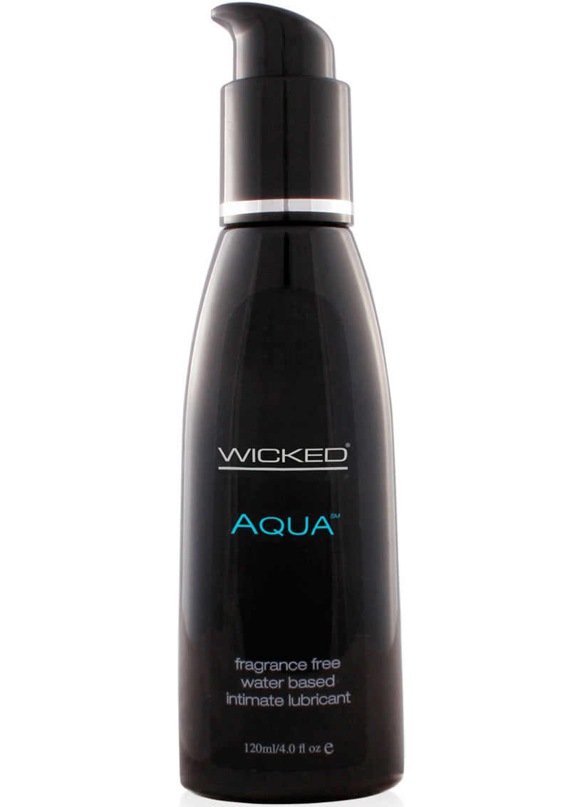 Wicked Aqua Unscented Lube 4 Oz