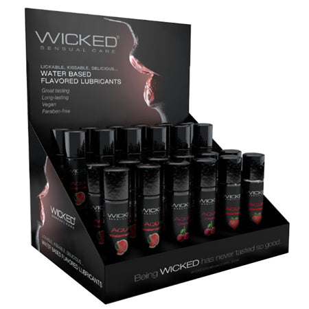 WICKED 24CT 1OZ CLASSIC FLAVOR DISPLAY