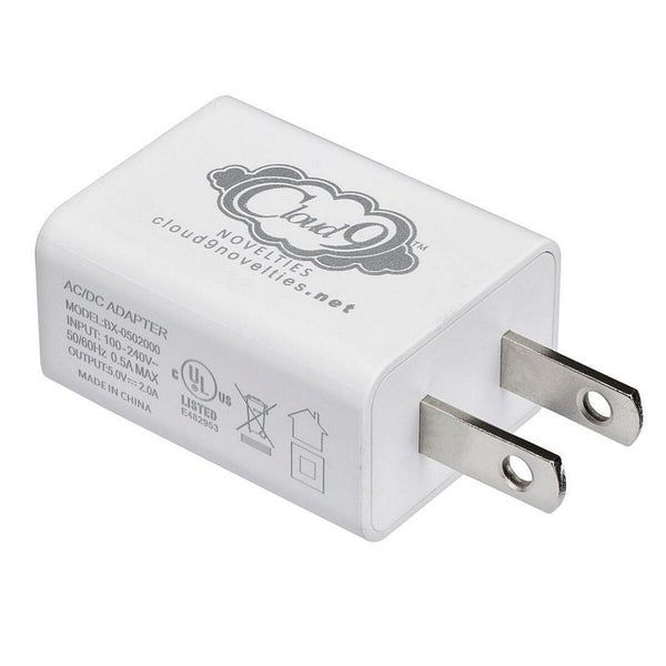 Cloud 9 USB 1 Port Adapter Charger for Vibrator
