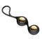 Cloud 9 Novelties Pro Sensual Duo Kegel Balls Black