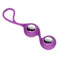 Cloud 9 Novelties Duo Kegel Balls Purple Chrome