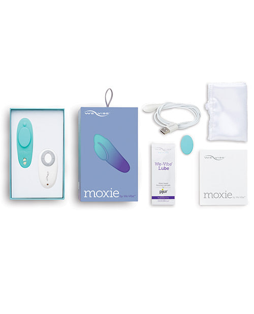 We-Vibe Moxie Wearable Remote 10-function Rechargeable Silicone Clitoral Vibrator with App Control