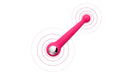 SVAKOM Bonnie Double Pleasure Vibrator Plum Red